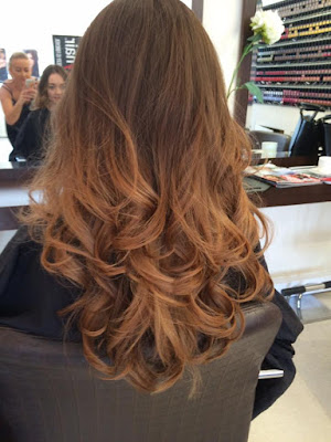 Brown, Balayage, Blonde, Hairstyle, Curly, Salon, Hairdressers