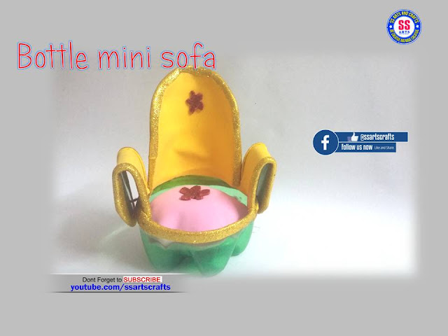 Here is Plastic bottle crafts,plastic bottle mini doll accessories,plastic bottle show pieces,plastic bottle wall hangings,crafts with plastic bottle,plastic bottle pets making,plastic bottle lamp,plastic bottle wall decor ideas,plastic bottle flowers for room decorations ideas,how to make plastic bottle mini sofa from doll