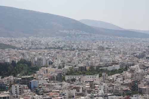 Athens Greece From The Acrocpolis