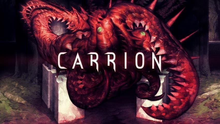 Обзор реверсивного хоррора Carrion - Как не надо рекламировать игры