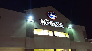 Beautiful One Last Exterior Close Up, And That Concludes Our Tour Of The Mansfield,  OH, Kroger Marketplace! Hopefully This Gives Those Of You Interested An  Idea Of ...