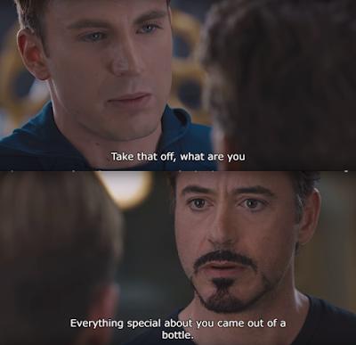 Amazing Marvel (MCU) Facts: Tony vs steve