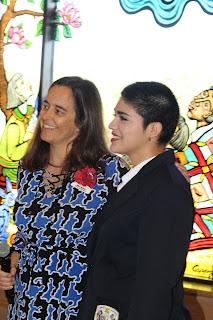 Catholic's Barragan and Scott Honored With Teen Leadership Award at MMFA 1