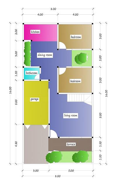 floor plan of beautiful house plan 29