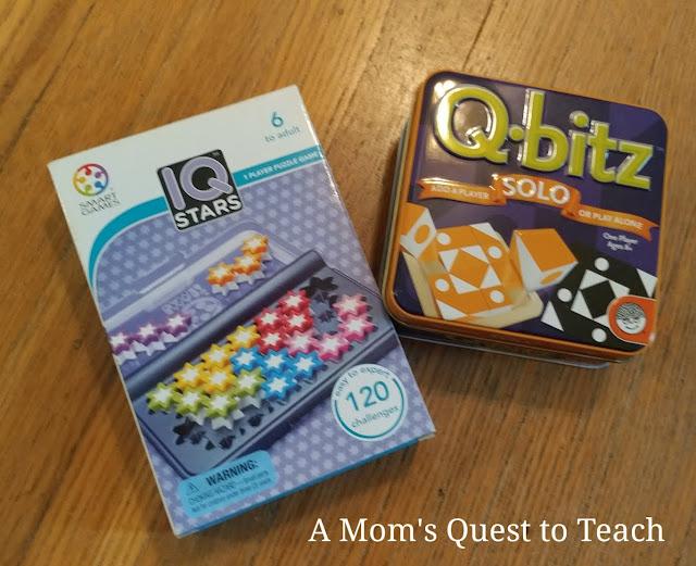 IQ Stars and QBits solo games