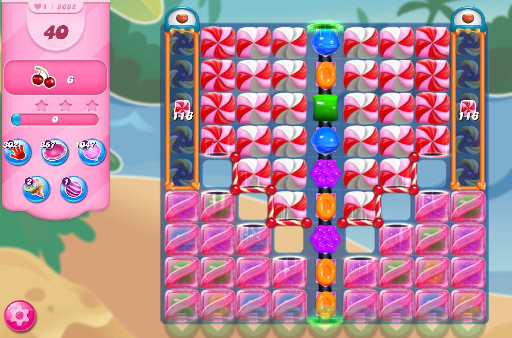 Candy Crush Saga level 8682