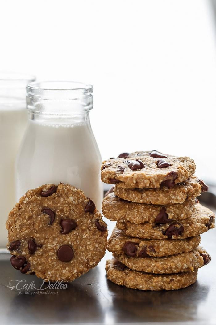 Healthy 2-Ingredient Breakfast Cookies