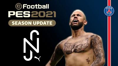 PES 2021 Menu Mod Neymar Jr