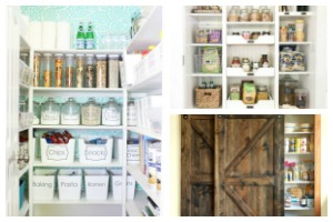 Pantry organization ideas: 7 pantry remodels from people who are killing it! Ideas and tips for organizing your own pantry.