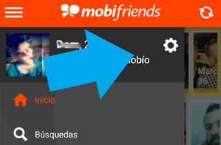 Como eliminar perfil Mobifriends desde la aplicacion