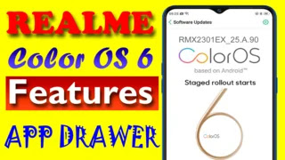 Realme Color OS 6.0 Features by Puruji