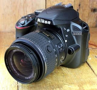 Kamera Second Nikon D3300 Lensa VR Malang