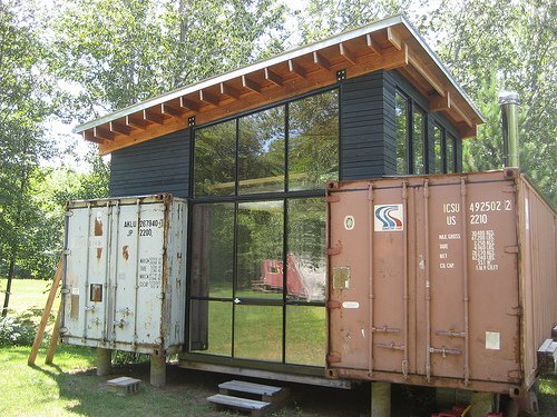 Shipping container homes hive modular holyoke corten - Shipping container homes plans ...