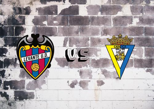 Levante vs Cádiz  Resumen