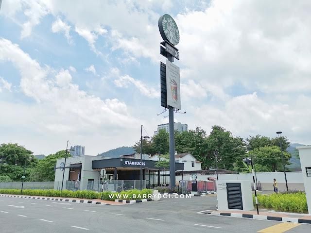 Starbucks Drive-thru Tanjung Bungah Penang Penang Blogger Blog www.barryboi.com Penang Cafe