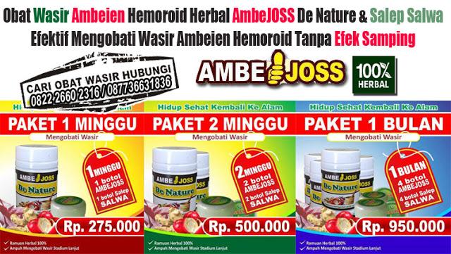 obat wasir atau ambeien alami