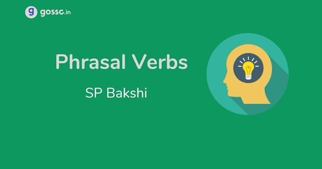 Download Phrasal Verbs SP Bakshi