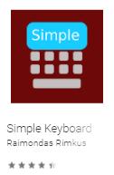 Simple Keyboard