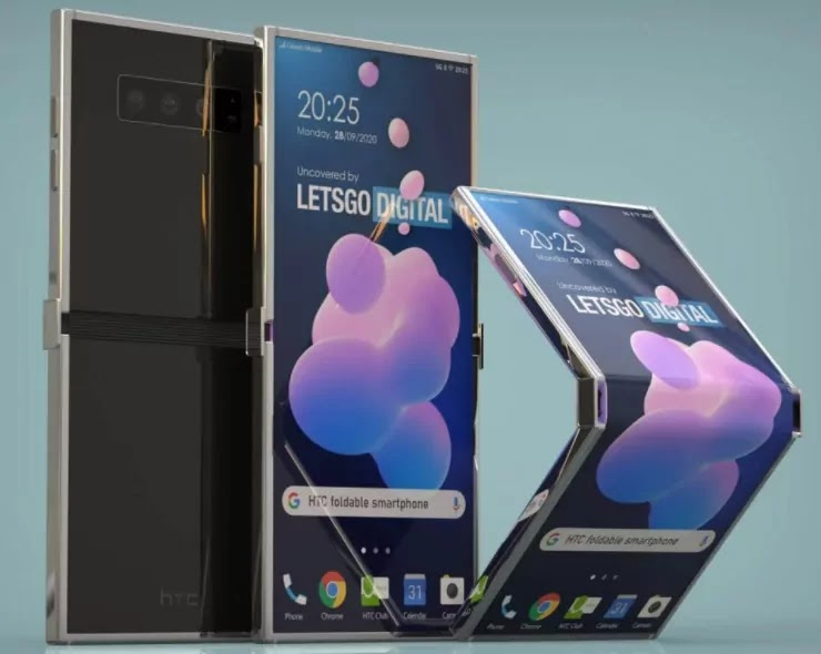 HTC's foldable Smartphone phone is off-kilter as opposed to energizing