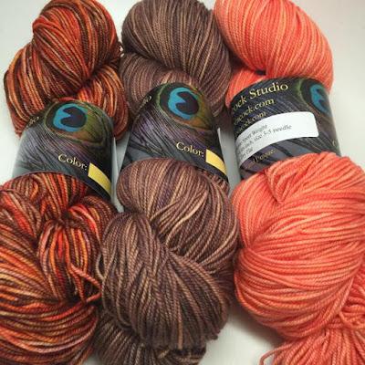 variegated and tonal yarns