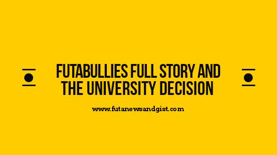 FUTA Bullies Full story