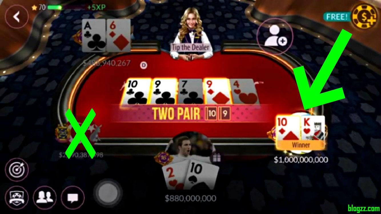 Zynga Poker - Bedava Chip Yapmasını Öğrendim