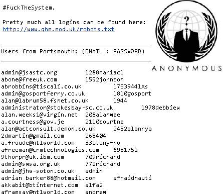 UK Ministry of Defence hacked by NullCrew