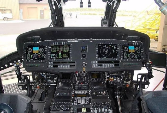 Sikorsky UH-60M Black Hawk cockpit