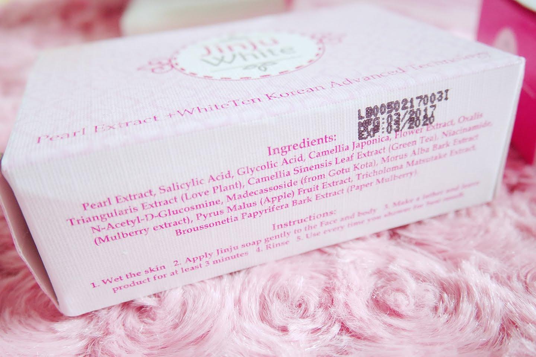 REVIEWS: Jinju White Soap - pinkislovebynix