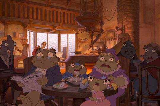 La ambientación en El planeta del tesoro - Cine de Escritor
