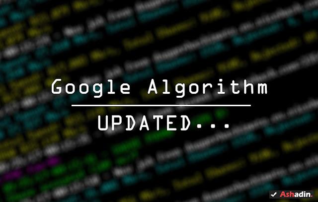 Jika ada update Algoritma Google Search anda mesti apa?