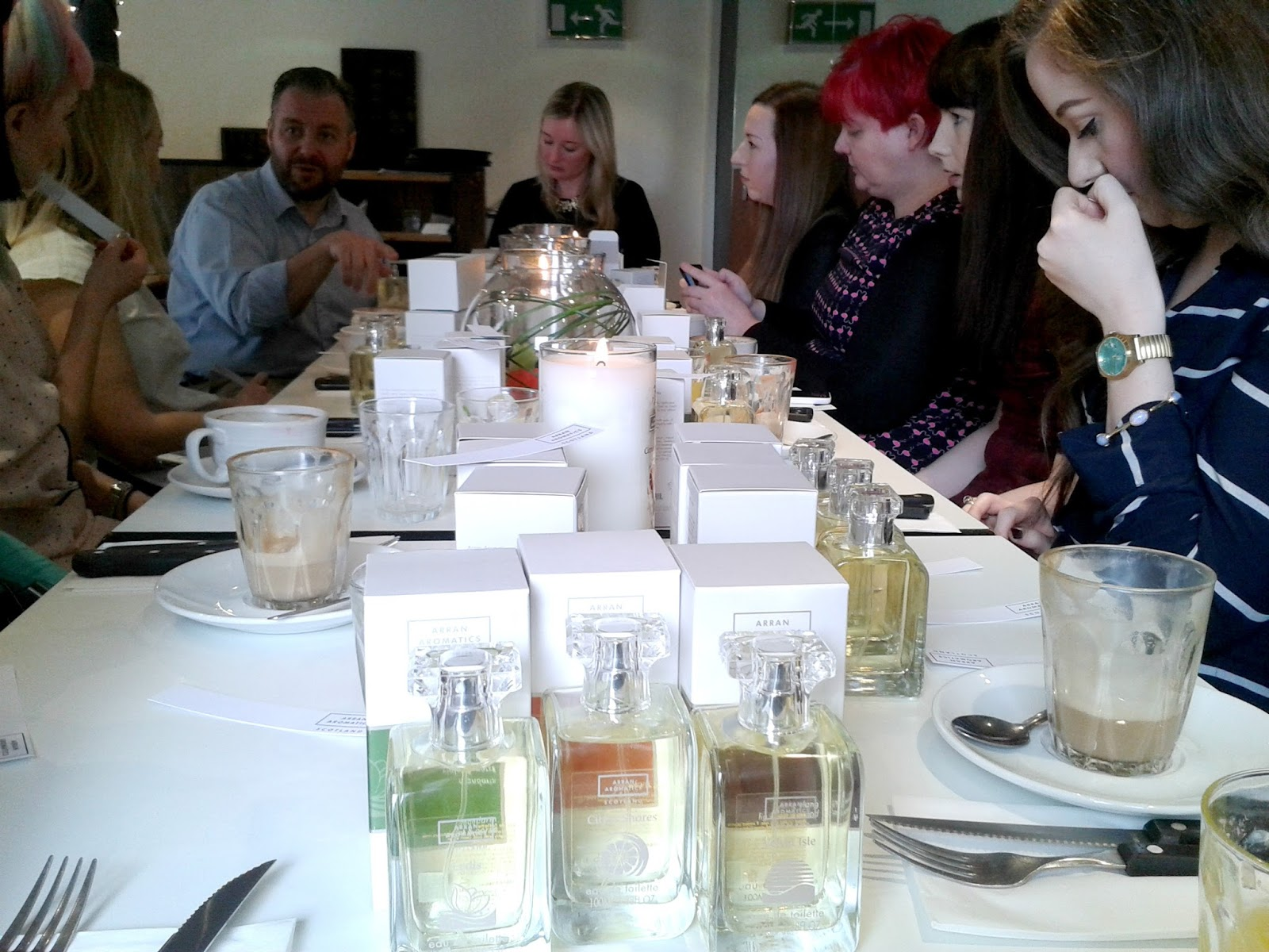 Arran Aromatics Blogger Breakfast