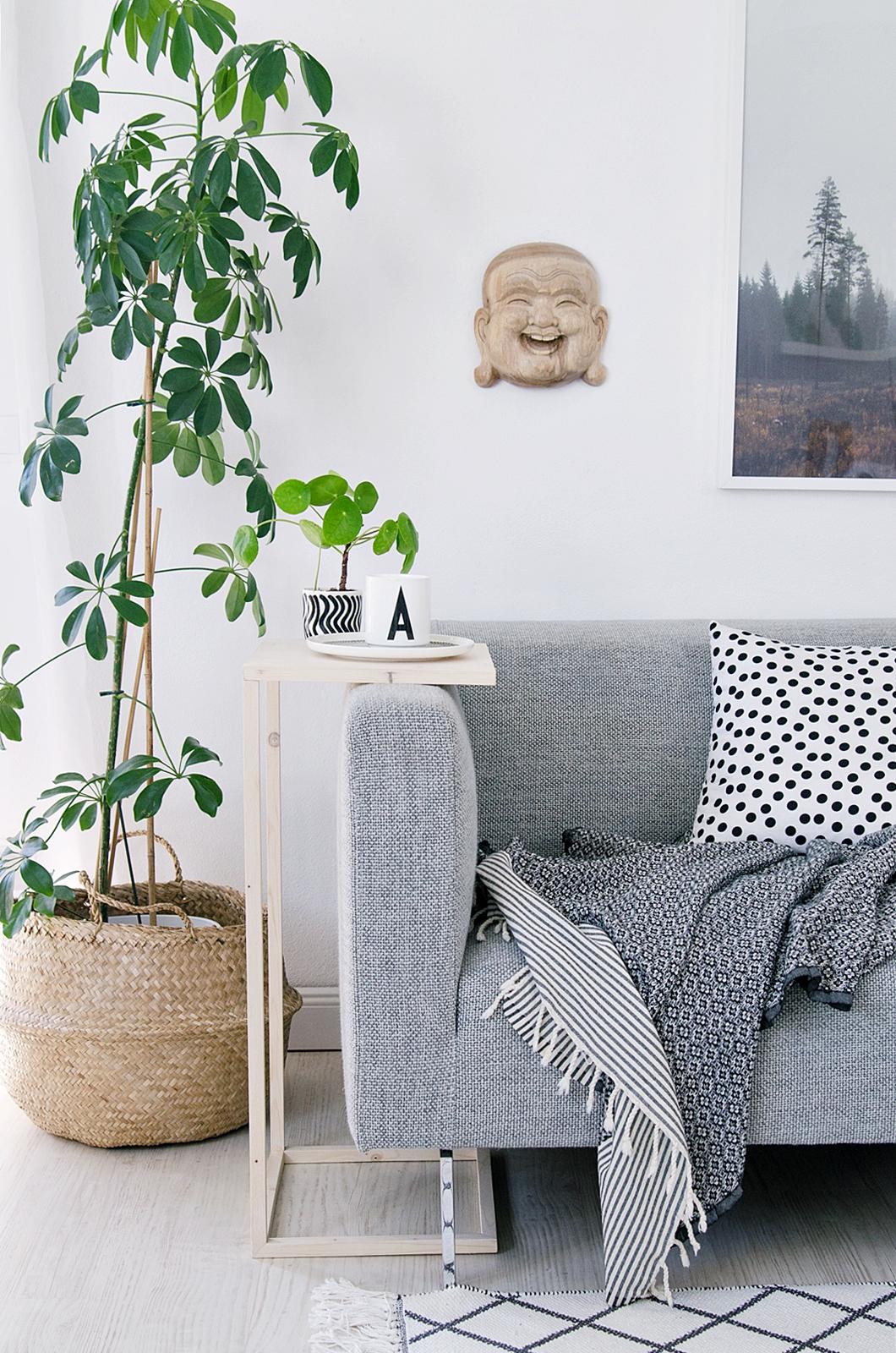 DIY Beistelltisch aus Holz