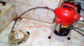 jasa saluran air mampet bekasi