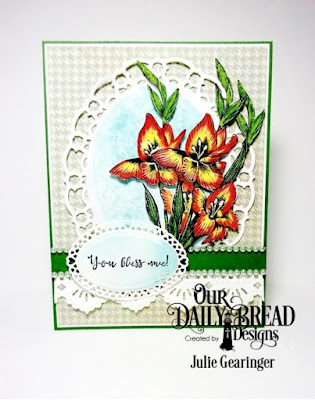 Our Daily Bread Designs Stamp Set:You Bless Me, Our Daily Bread Designs Paper Collection: Soulful Stitches, Our Daily Bread Designs Custom Dies:  Ornate Ovals, Beautiful Borders