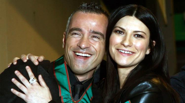 Eros Ramazotti y Laura Pausini