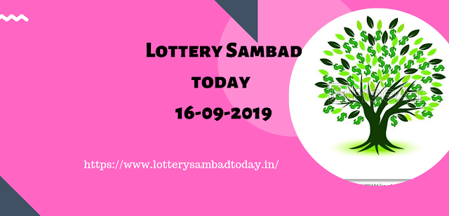 Win Lottery Sambad:Results and Timing today 16-09-2019