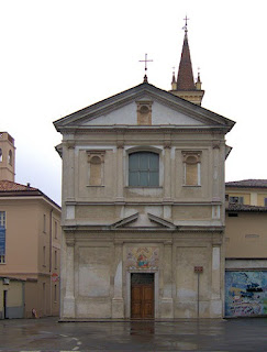 The Santuario of Santa Maria delle Grazie  is a 17th century church in Crema