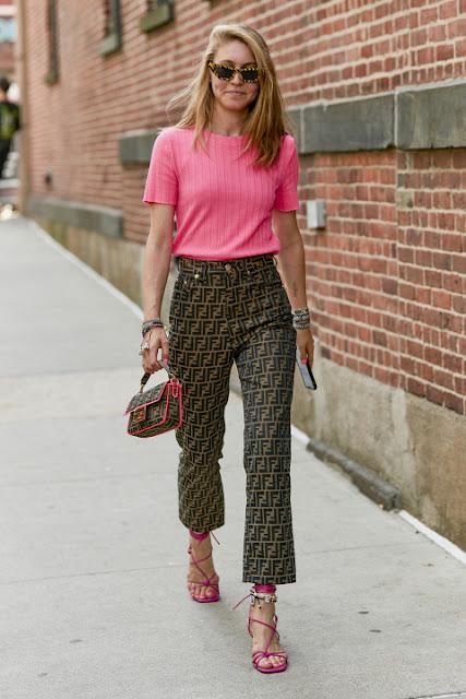 Стильный образ модные брюки 6-1