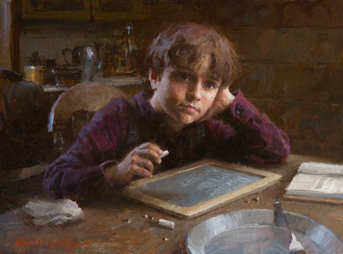 Американский художник. Morgan Weistling 17
