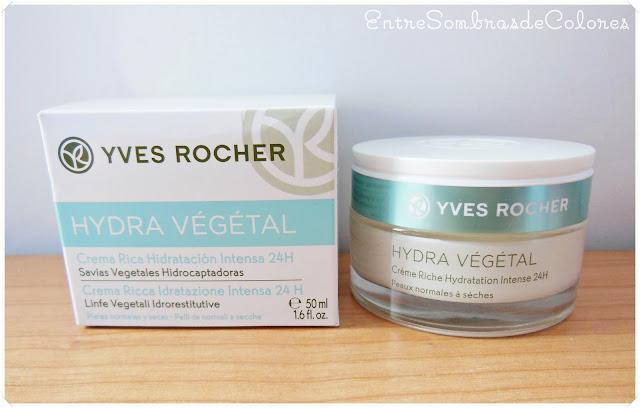 Crema Hydra Végétal hidratación Yves Rocher