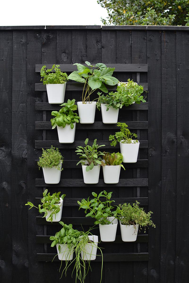 modern vertical garden IKEA hack
