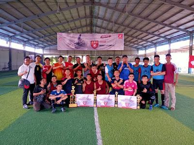 Ketupat Futsal Community Cup 2019 dari Capella Honda