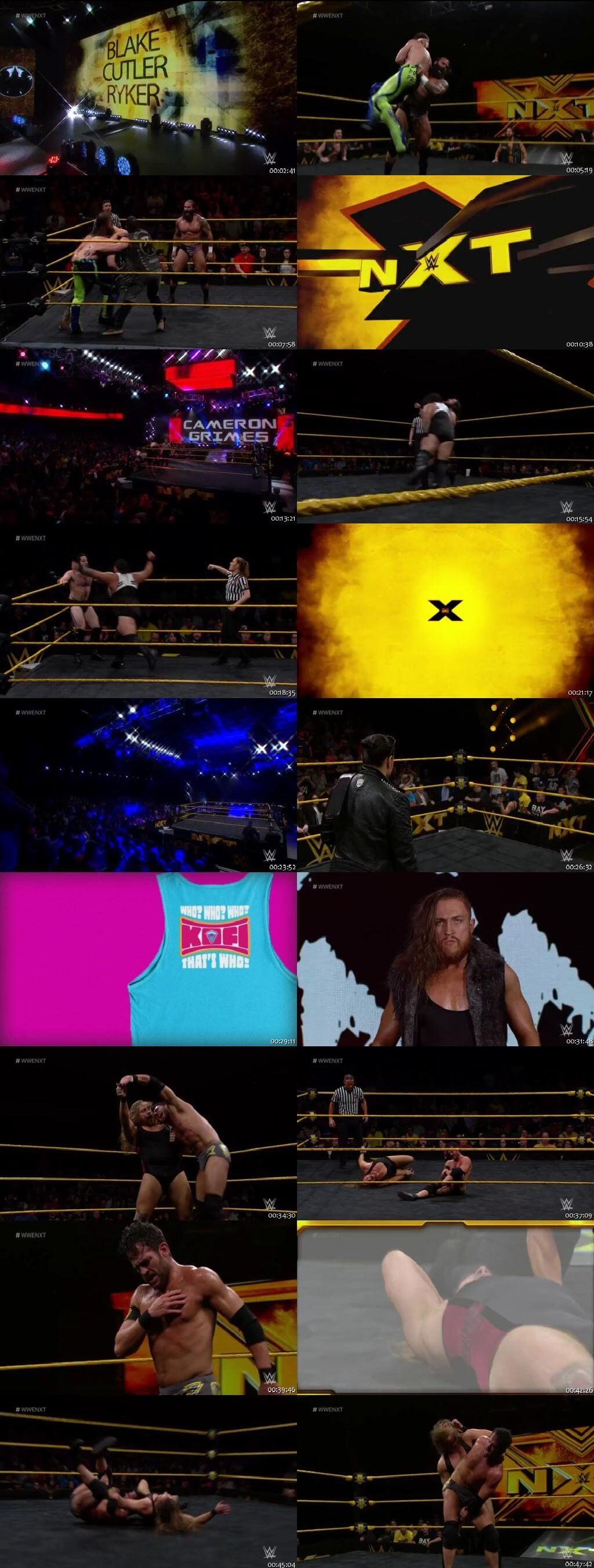 Screen Shot Of WWE NXT 31st July 2019 HDTV 480P 300MB