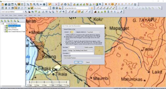 Tutorial Digitizing (Point, Line, Polygon) Menggunakan Global Mapper