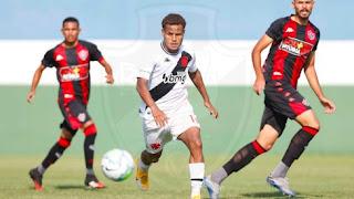 Ouça a partida entre Vasco x Botafogo pelo Campeonato Brasileiro Sub-20.