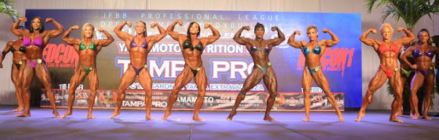 Women's Open Bodybuilding
