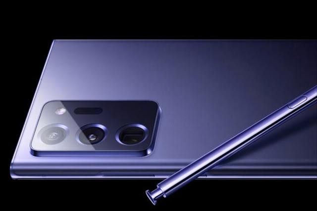 هاتف سامسونج الاقوى Galaxy Note 20