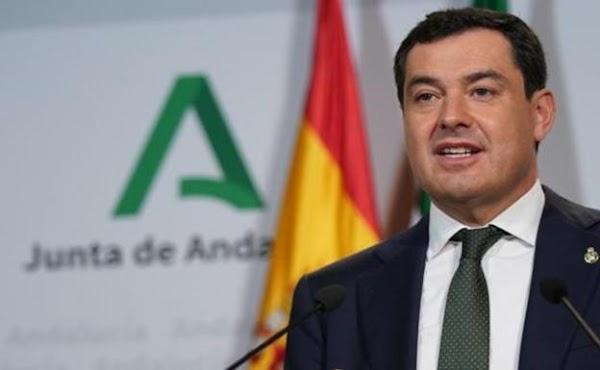 Juanma Moreno anuncia en la Macarena el aumento de la partida para mantener el Patrimonio de las Hermandades